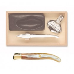 Kellerman Champagn saber inlay handle