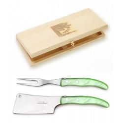 Couteau Liner Lock Laguiole grand modèle