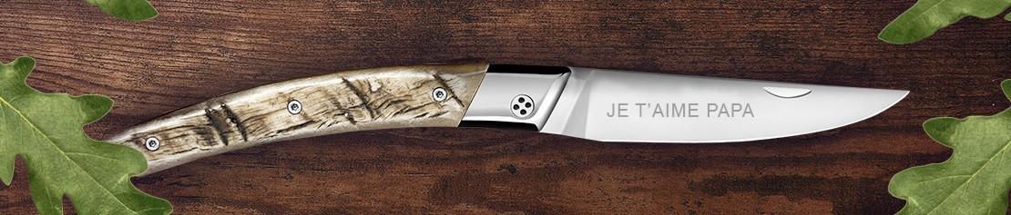 Couteaux Personnalisables & couteaux sur mesure - Coutellerie Dozorme
