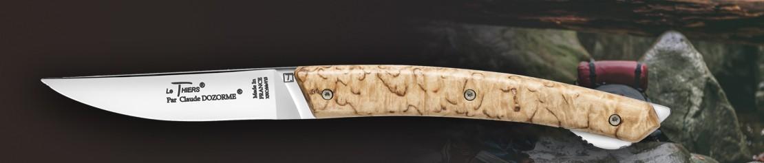 Folding pocket knives with lock mechanism Le Thiers - Coutellerie Dozorme