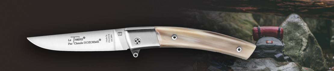 Came mecanism pocket knives - Coutellerie Dozorme