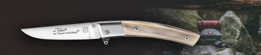 Couteaux de poche pliants à mécanisme à came - Coutellerie Dozorme