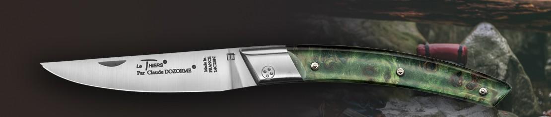 Couteaux de poche pliants avec roulement à bille - Coutellerie Dozorme