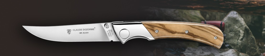 Pocket knifes with a push button - Coutellerie Dozorme