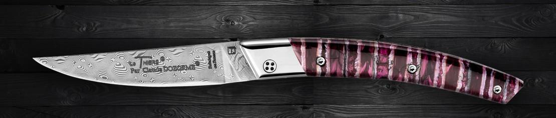 Luxury modern and design Pocket Knives - Coutellerie Dozorme