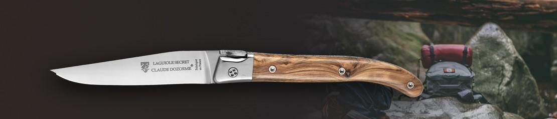 Couteau de poche à mécanisme innovant - Coutellerie Dozorme