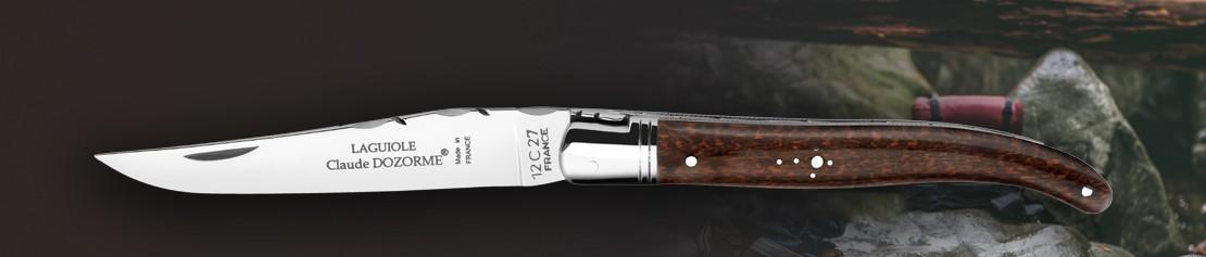 Couteaux de poche pliants à fermeture classique - Coutellerie Dozorme