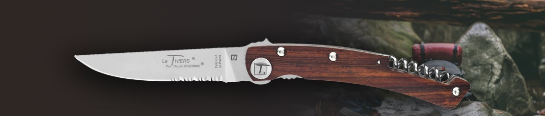 Pocket Knives with Corkscrew - Coutellerie Dozorme