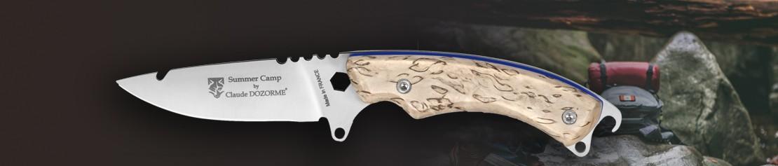 Couteaux de Chasse à Lame Fixe : skinner et survie - Coutellerie Dozorme